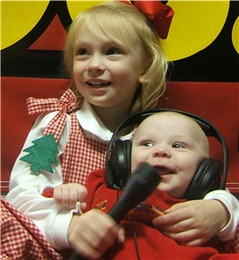 Tiny On-Air Personalities, Georgia Anne & Jack